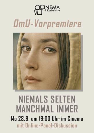 Omu-Vorpremiere: Niemals Selten Manchmal Immer