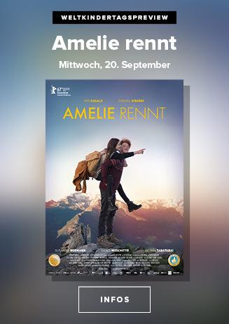 "Weltkindertagspreview ""Amelie rennt"""
