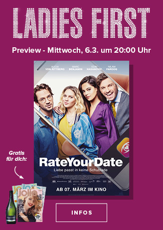 Ladies First am 06.03.2019 um 20 Uhr: Rate your Date