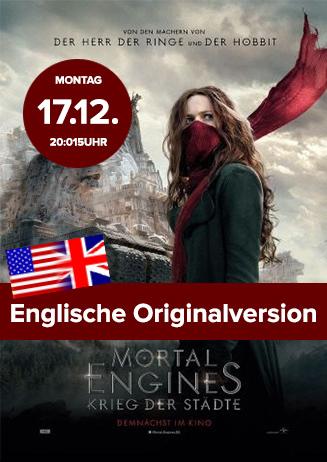 """Englische OV: """"Mortal Engines: Krieg der Städte"""""""