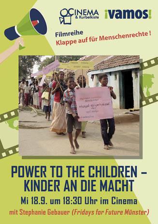 Vamos zeigt: POWER TO THE CHILDREN