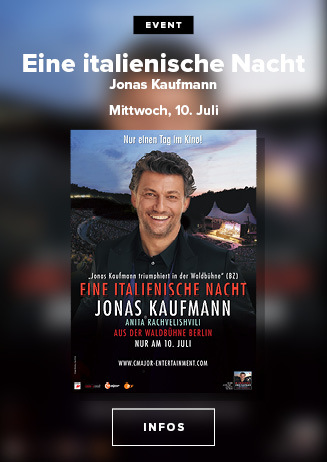 Eine italienische Nacht: Jonas Kaufmann aus der Waldbühne Berlin
