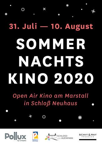 Sommernachtskino in Schloß Neuhaus