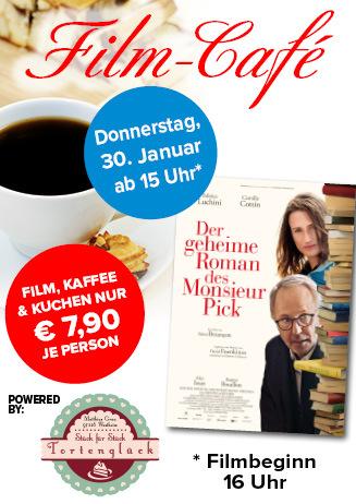 """200130 Film-Café """"Der geheime Roman des Monsieur Pick"""""""