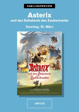 """Familienpreview """"Asterix und das Geheimnis des Zaubertranks"""""""