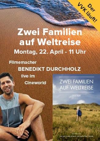 """190422 EdW """"Zwei Familien auf Weltreise"""""""