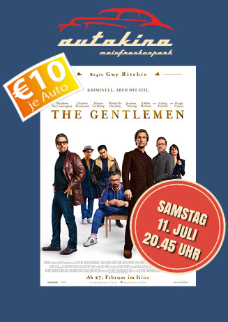 "207011 Autokino ""The Gentlemen"""