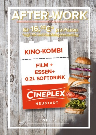 After-Work im OSCAR'S Kino-Kombi