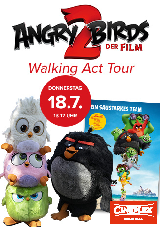 """Walking Act Tour """"Angry Birds 2"""""""