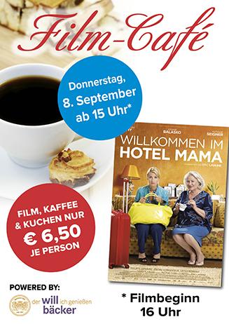 """160908 Film-Café """"Willkommen im Hotel Mama"""