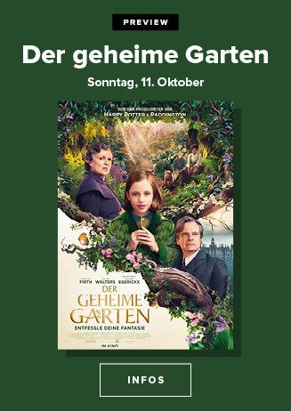 11.10. - Preview: Der geheime Garten