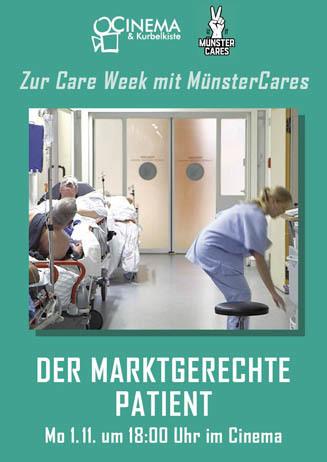 DER MARKTGERECHTE PATIENT mit Münster Cares