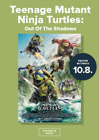 Preview: Teenage Mutant Ninja Turtles - Out of the Shadows