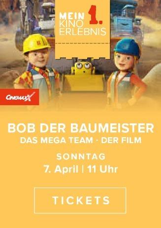 Mein erstes Kinoerlebnis: Bob der Baumeister