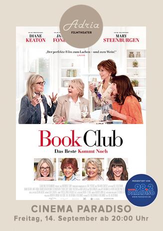 Cinema Paradiso Book Club