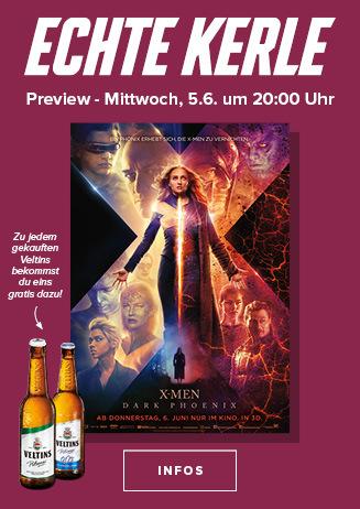 Echte Kerle Preview: X-Men: Dark Phoenix 3D