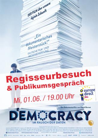 """Regisseurbesuch: """"Democracy - Im Rausch der Daten"""""""