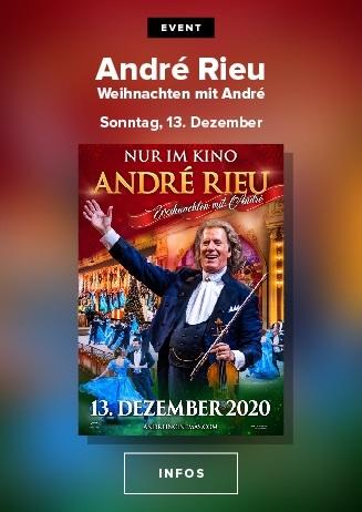 André Rieu : Weihnachten mit André Rieu 2020 / 13.12. / 17:00 Uhr