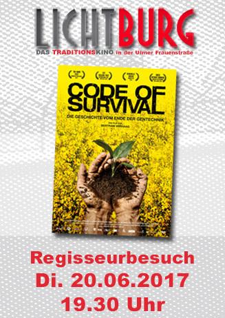 Regisseurbesuch: Code of Survival