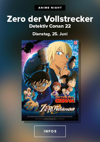 "190625 Anime Night ""Detective Conan 22- Zero der Vollstrecker"""