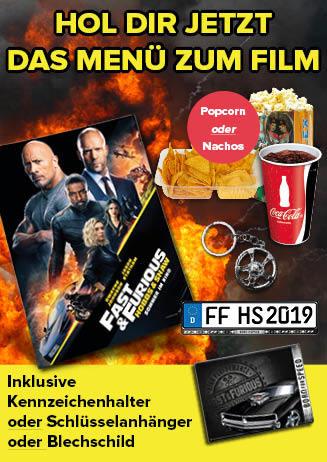 """Con Menü zu """"Fast & Furious: Hobbs & Shaw"""""""