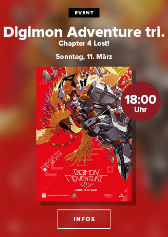 Anime Nights: Digimon Adventure tri. - Chapter 4: Lost