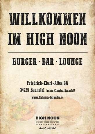 High Noon - Burger | Bar | Lounge