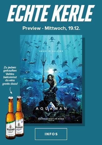 19.12. - Echte Kerle: Aquaman