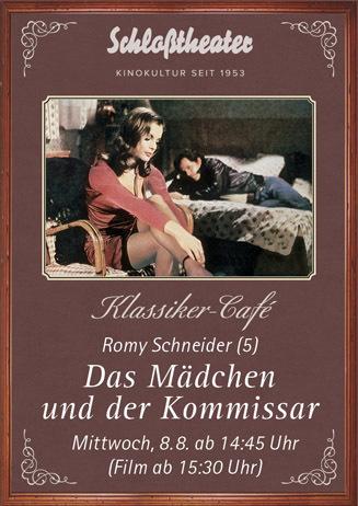Klassiker-Café: DAS MÄDCHEN UND DER KOMMISSAR