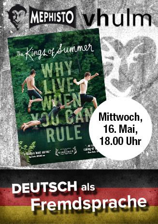 Deutsch als Fremdsprache: Kings of Summer