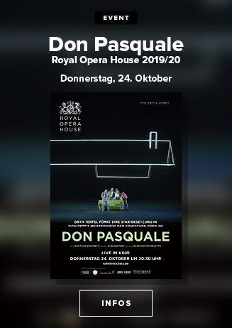 Royal Opera House: Don Pasquale Live