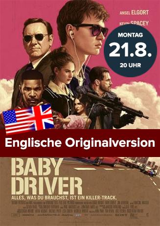 Englische Originalversion: Baby Driver