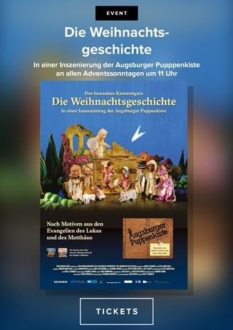 Die Weihnachtsgeschichte in einer Inszenierung der Augsburger Pup
