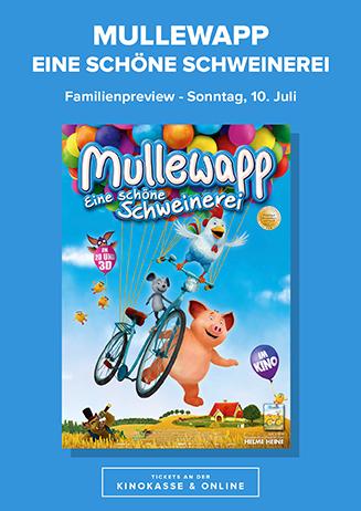 """Familien-Preview """"Mullewapp – Eine schöne Schweinerei"""""""
