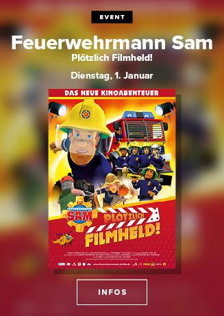 Event: Feuerwehrmann Sam - Plötzlich Filmheld!