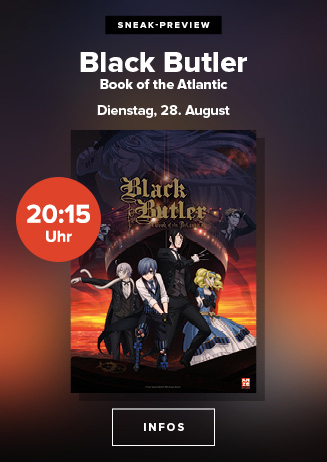 "Anime Night 2018: ""Black Butler - Book of the Atlantic"""