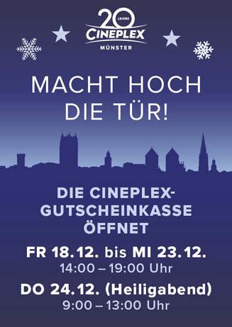 CINEPLEX-Gutscheinkasse