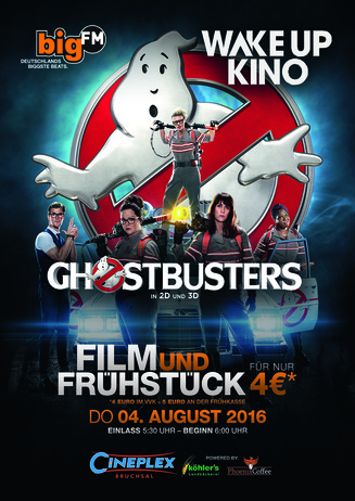 bigFM WakeUpKino: GHOSTBUSTERS