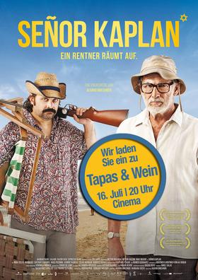 Tapas & Wein im Cinema!