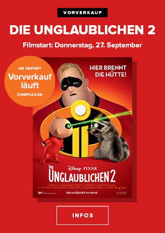 Ab 27.09. im Kino - VVK: Die Unglaublichen 2