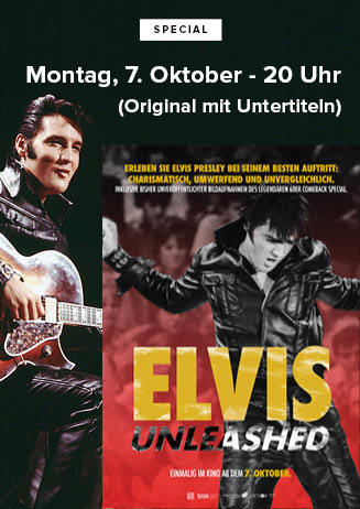 """191007 Special """"Elvis unleashed"""""""