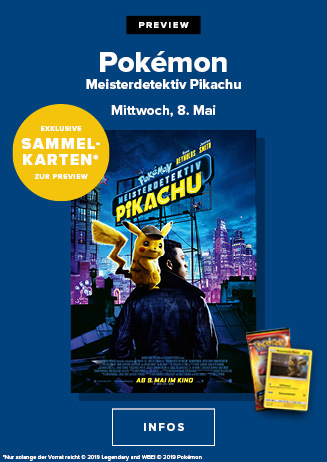 Preview: Pokemon Meisterdetektiv Pikachu