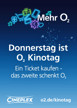 O2 KINOTAG 2 FÜR 1