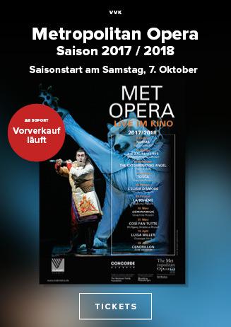 MET Opera: Saison 2017/18