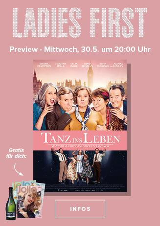 Ladies First: Tanz ins Leben