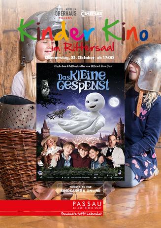 """Kinder Kino im Rittersaal: """"Das kleine Gespenst"""""""