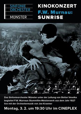 Kinokonzert: F. W. Murnaus SUNRISE