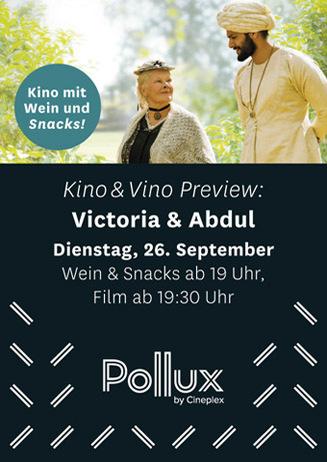 Kino & Vino: Victoria und Abdul