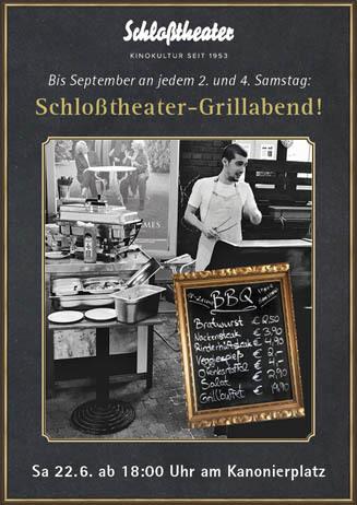 Schloßtheater-Grillabend