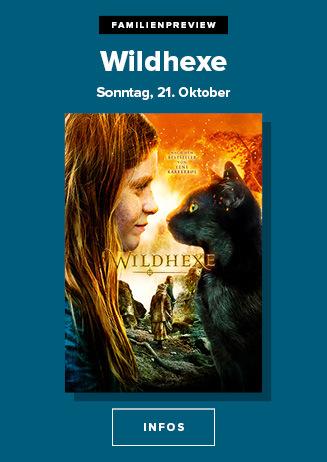 21.10. - Familienpreview: Wildhexe